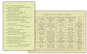benedictus magnificat compositions of the hours cards the