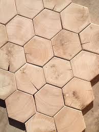 hexagon end grain hardwood flooring mosaic blocks 500 square
