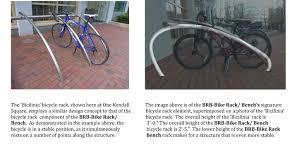 brb bike rack bench u0027 climate colab