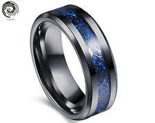 men s rings men s tungsten rings ebay