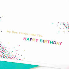 taylor swift sparkle birthday card