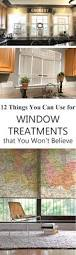 creative and unique diy window treatments with stuff around your