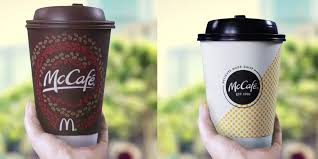 Cup Design by Mccafe New Gourmet Coffee At Mcdonald U0027s Business Insider