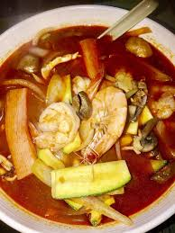 cuisine uip oran jambong spicy seafood noodle soup don t ask for spicy your