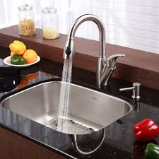 Furniture Stainless Steel Kitchen Sinks Kraususa With Regard To - Kitchen sinks usa