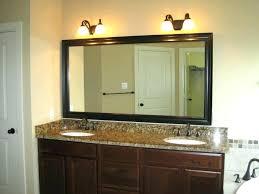 Bathroom Mirror Size Bathroom Mirror With Lights Built In Fin Soundlab Club