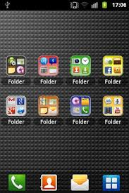 how to make folders on android droid app folder android apps on play