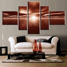 aliexpress com buy 5 panels set canvas paint painting