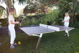 how big is a ping pong table woolsey outdoor ping pong table sean woolsey