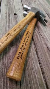 wooden groomsmen gifts set of two engraved wooden handled hammer groomsmen gift