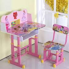 cheap height adjustable kids table student study desk children