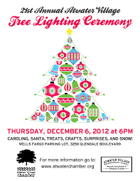21st annual atwater tree lighting ceremony friends of