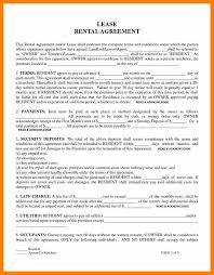 free rental lease agreement download 5 rental lease agreement template computer invoice