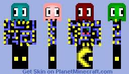 Pac Man Meme - best pacman minecraft skins planet minecraft