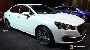 2016 peugeot 508 gt exterior and interior walkaround 2015