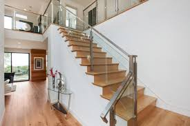modern aluminum stair railing for latest home decorating ideas