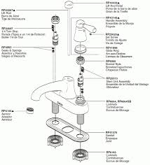 Delta Bathroom Faucet Leak Delta Single Handle Bathroom Faucet Parts Diagram For C Spout