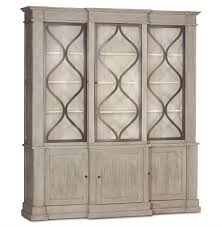 3 Door Display Cabinet Country Wood 3 Door Display Cabinet Kathy Kuo Home