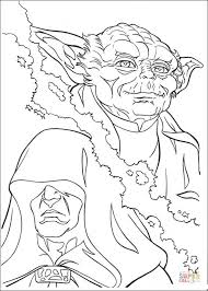 yoda palpatine coloring free printable coloring pages