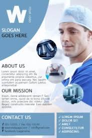 healthcare brochure templates free flyer fourthwall co