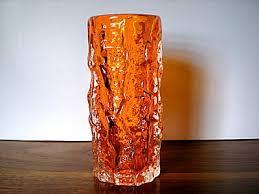 Vintage Orange Glass Vase 40 Best Whitefriars Glass Images On Pinterest Glass Art Glass