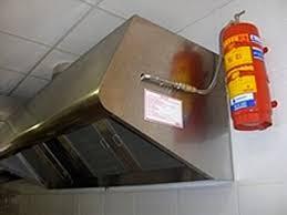 extincteur pour cuisine orfeo système d extinction automatique d incendie dans les cuisines