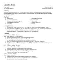 resume exles for sales associates organisational speech writing civil service college resume