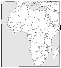 africa map outline 28 images blank map of africa coloring