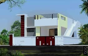 portico design for ground floor invizibil