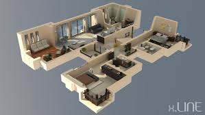 Free Home Design 3d Software For Mac 3d Floor Plans Gallery Of Newhall B With 3d Floor Plans Nowadays