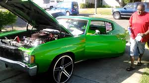 chevelle candy apple green youtube