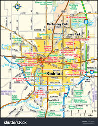 Bloomington Illinois Map rockford illinois area map stock vector 139178078 shutterstock