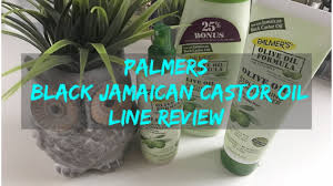Jamaican Skin Care Products Palmers Black Jamaican Black Castor Oil Line Review