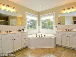 traditional master bathroom with limestone u0026 undermount sink in