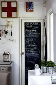porte de la cuisine porte de la cuisine la peinture tableau noir fait parler les murs
