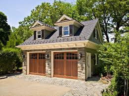 attractive traditional garage design with two traditional garage