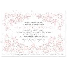 wedding invitations hamilton botanical beauty seed paper wedding invitation plantable wedding