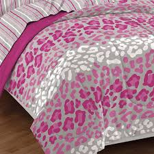 cheetah bedding for girls amazon com dream factory safari leopard ultra soft