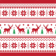 christmas pattern christmas and winter knitted seamless pattern by redkoala graphicriver