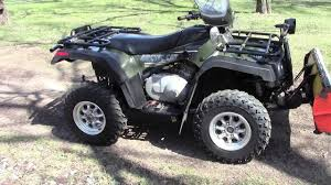 2005 arctic cat 400 4x4 auto with plow and winch youtube