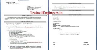 Resume Format For Experienced Production Engineers Television Production Engineer Resume Thanking You Prasad Talari