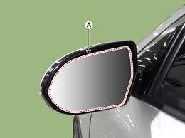 Remove Blind Spot Mirror Kia Niro Blind Spot Detection Indicator Repair Procedures