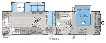 montana cers floor plans collection of 5th wheel cer floor plans 2016 eagle fifth wheel