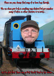 Thomas The Tank Engine Meme - nostalgia critic thomas the tank engine parody by kendallcollins