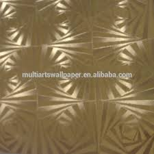 gold foil metallic wallpaper made in china maufacture in foshan