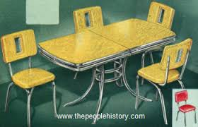 50s style kitchen table 50 s style furniture retro dining room sets 14 bmorebiostat within