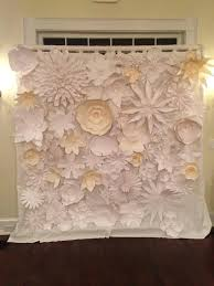 wedding backdrop using pvc pipe handmade paper flower backdrop for wedding diy pvc pipes shower