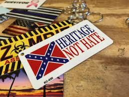 Confederate Flag Buy Confederate Rebel Flag License Plates And Signs Smart Blonde