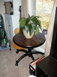 turntable from a trashed ikea office chair tom u0027s bonsai