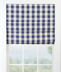 Rv Roman Shades - buffalo check cordless roman shade country curtains
